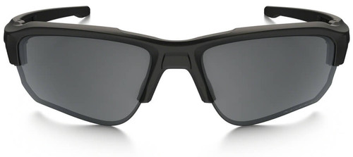 89d151602ab ... Oakley SI Speed Jacket Sunglasses with Matte Black Frame and Grey  Polarized Lens - Front ...