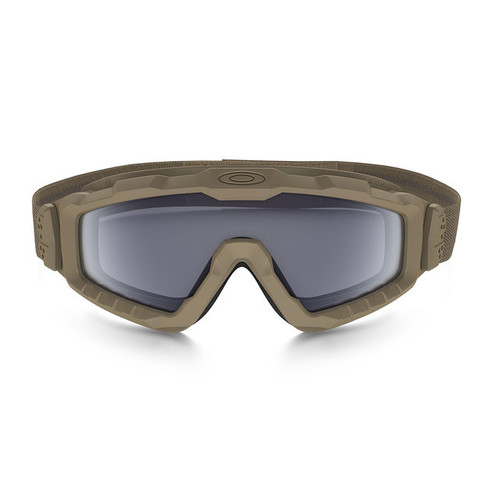 5014fc85382 Oakley SI Ballistic Halo Goggle with Terrain Tan Frame and Grey Lens
