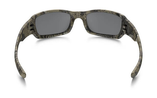 66ad56692af Oakley SI Fives Squared Sunglasses with Desolve Bare Frame and Black  Iridium Lens