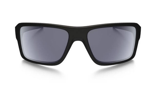 30efcdaa9c Oakley SI Double Edge Sunglasses with Matte Black Frame and Grey Polarized  Lens