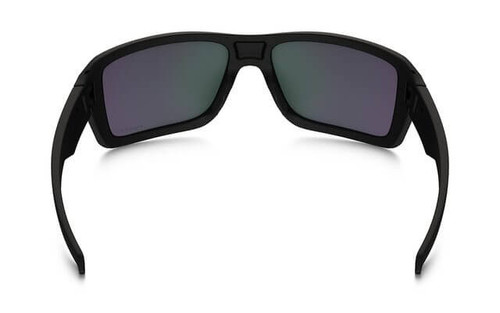 b8fc596639 Oakley SI Double Edge Sunglasses with Matte Black Frame and Prizm Maritime  Polarized Lens