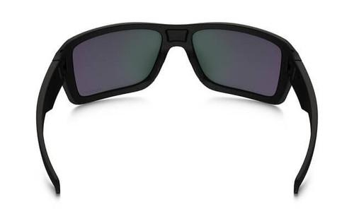 f1fa7bc14b Oakley SI Double Edge Sunglasses with Matte Black Frame and Prizm Maritime  Polarized Lens