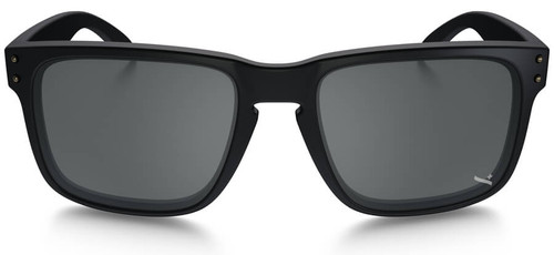 2527391698 ... Oakley SI Infinite Hero Holbrook Sunglasses with Blue Black Frame and Black  Iridium Lens - Front ...