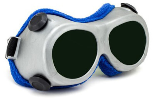 Phillips Solar Eclipse (Welding) OTG Goggles with Gray Frame and Shade 14 Lens