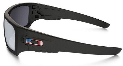 09ccb894262e0 Oakley SI Ballistic Det Cord Sunglasses with Matte Black USA Flag Frame and  Grey Lens