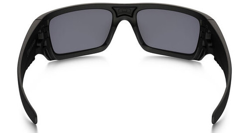 d011ea2f5a Oakley SI Ballistic Det Cord Sunglasses with Matte Black USA Flag Frame and  Grey Lens