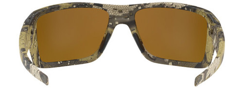 411448f2593 ... Oakley SI Double Edge Sunglasses with Desolve Bare Frame and Prizm  Tungsten Polarized Lens - Back ...