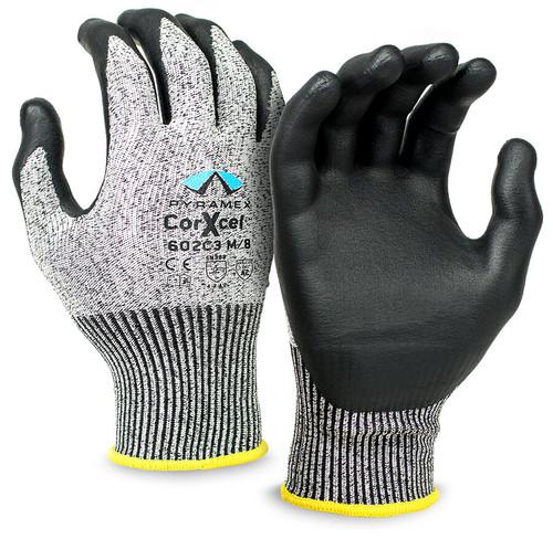 Pyramex GL602C3 Series Cut-Resistant Micro-Foam Nitrile Gloves