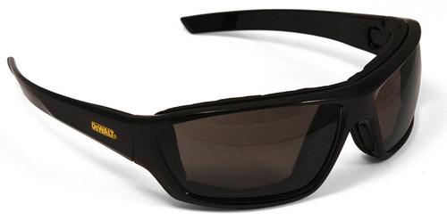 DeWalt Converter Safety Glasses/Goggles with Black Frame and Clear Anti-Fog Lens