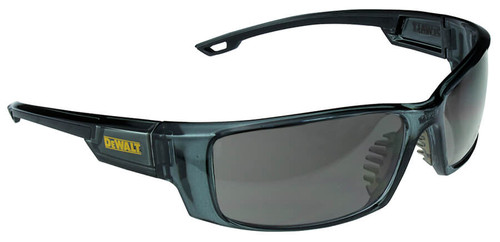 DeWalt Excavator Safety Glasses with Crystal Black Frame and Smoke Lens