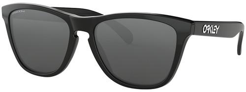 Oakley Frogskins Sunglasses with Polished Black Frame and Prizm Black Lens