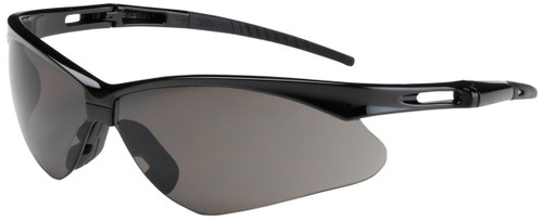 Bouton Anser Safety Glasses with Black Frame and Gray Lens