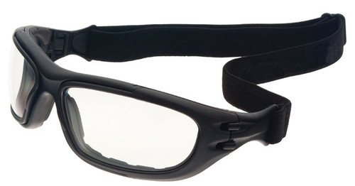 ca4e1237ec6ba ... Guard Dogs G100 Safety Glasses Goggle with Black Frame and Clear  Anti-Fog Lenses