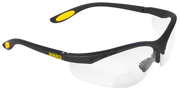 DeWalt Reinforcer Rx DPG59 Bifocal Safety Glasses with Clear Lens