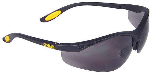 DeWalt Reinforcer Bifocal Safety Glasses with Smoke Lens