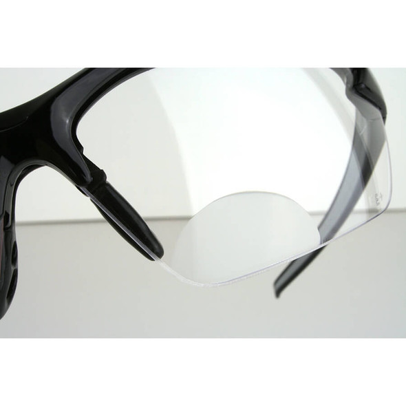 Edge Zorge Magnifier Bifocal Safety Glasses With Clear Lens - Close Up Bifocal