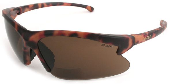 KleenGuard 30-06 Bifocal Safety Glasses With Brown Lens