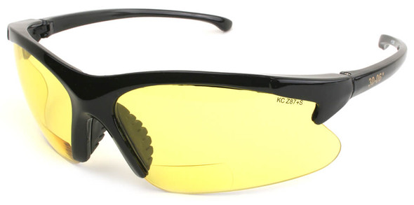 KleenGuard 30-06 Bifocal Safety Glasses With Yellow Lens