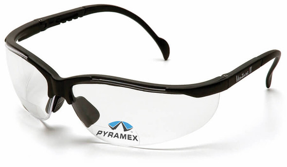 Pyramex V2 Reader Bifocal Safety Glasses with Clear Lens