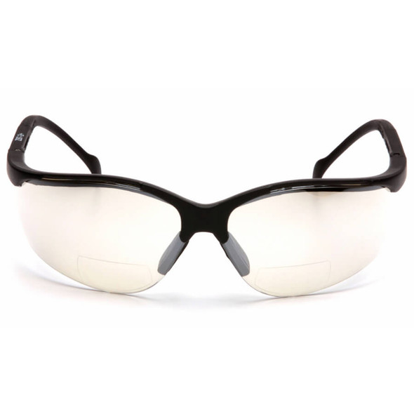 Pyramex V2 Reader Bifocal Safety Glasses with Indoor/Outdoor Lens - Front