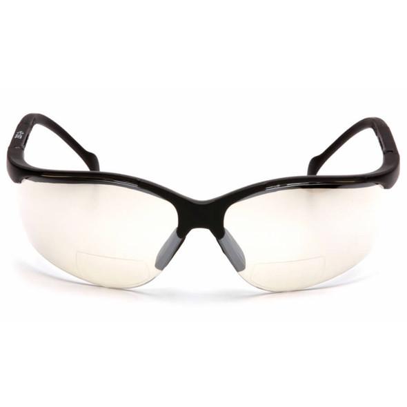Pyramex V2 Reader Bifocal Safety Glasses with Indoor/Outdoor Lens - Front