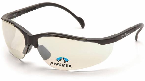 Pyramex V2 Reader Bifocal Safety Glasses with Indoor/Outdoor Lens