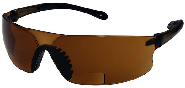 Radians Rad-Sequel RSx Bifocal Safety Glasses with Coffee Lens