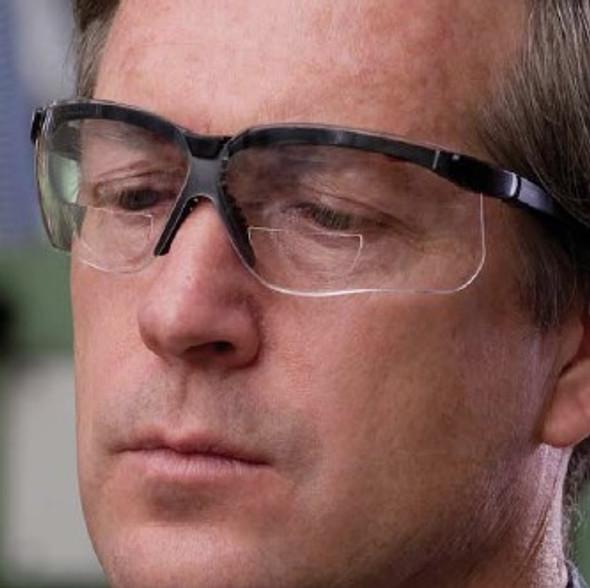 Uvex Genesis Bifocal Safety Glasses Model