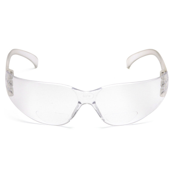 Pyramex S4110R Intruder Readers Safety Glasses Front View