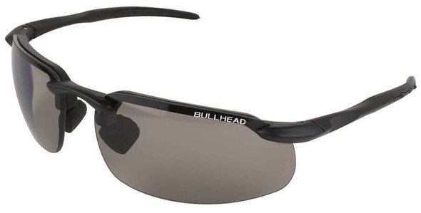Bullhead Swordfish Safety Glasses with Matte Black Frame and Polarized/Photochromic Smoke Lens BH1061213