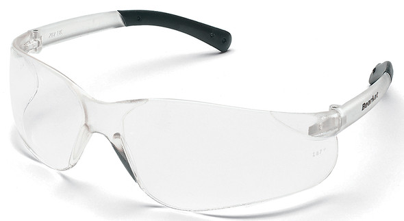 Crews Bearkat Safety Glasses with Clear Anti-Fog Lenses