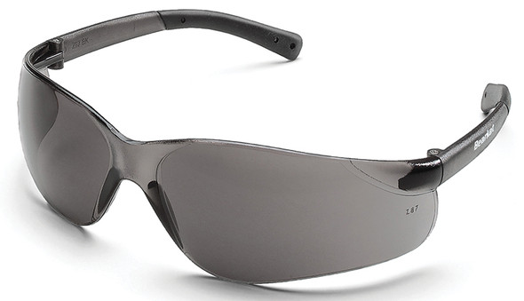 Crews Bearkat Safety Glasses with Gray Anti-Fog Lenses