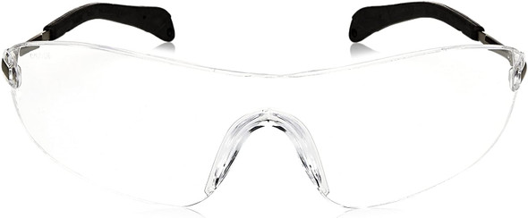 Crews Blackjack Safety Glasses with Clear Anti-Fog Lens S2110AF Front View