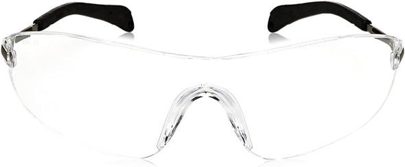 Crews Blackjack Safety Glasses with Clear Anti-Fog Lens S2110AF Front View