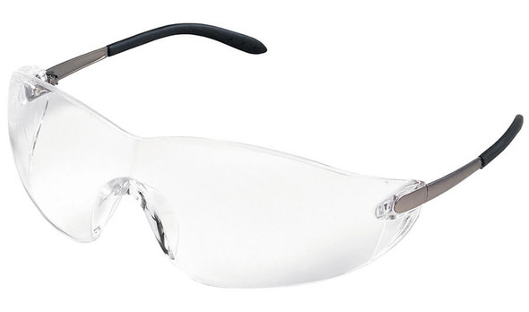 Crews Blackjack Safety Glasses with Clear Anti-Fog Lens S2110AF