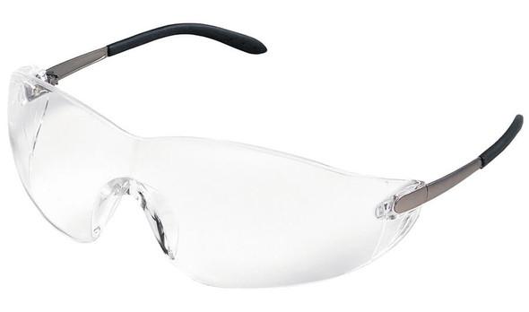Crews Blackjack Safety Glasses with Clear Anti-Fog Lens S2110AF