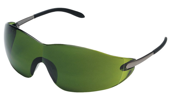 Crews Blackjack Safety Glasses with Shade 3 Lens S21130