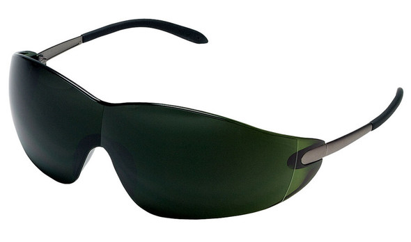 Crews Blackjack Safety Glasses with Shade 5 Lens