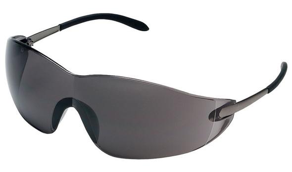 Crews Blackjack Safety Glasses with Gray Lens S2112