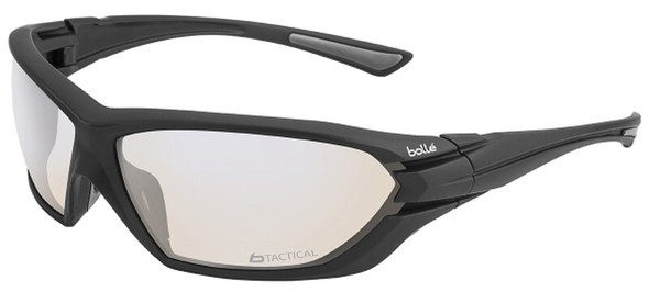 Bolle Assault Tactical Safety Glasses with Matte Black Frame and ESP Anti-Fog Lens 40147