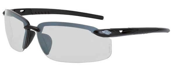 Crossfire ES5 Safety Glasses with Matte Black Frame and I/O Lens
