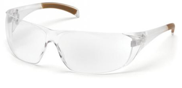 Carhartt Billings Safety Glasses with Clear Anti-Fog Lens CH110ST