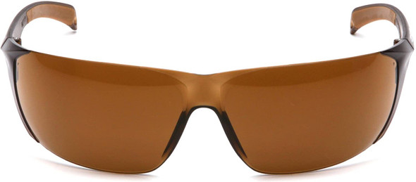 Carhartt Billings Safety Glasses with Sandstone Bronze Lens CH118S Front