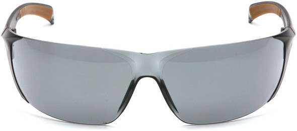 Carhartt Billings Safety Glasses with Gray Anti-Fog Lens CH120ST Front