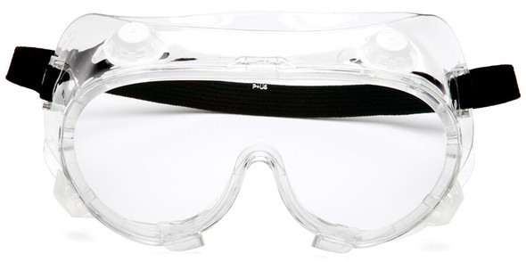 Pyramex G204 Indirect Vent Goggle with Clear Lens G204 - Front