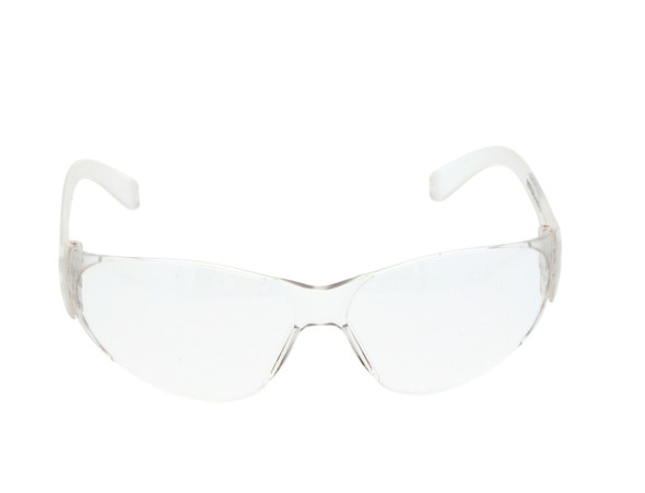 Crews Checklite Safety Glasses with Clear Lens CL110 Front View