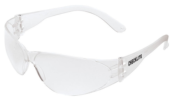 Crews Checklite Safety Glasses with Clear Anti-Fog Lens CL110AF
