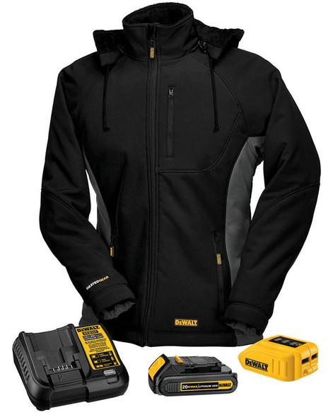 DEWALT® Women's Heated Soft Shell Coat Kitted DCHJ066C1