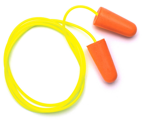 Pyramex Foam Corded Earplugs DP1001