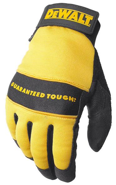 DeWalt DPG20 All Purpose Synthetic Leather Palm Gloves - Top